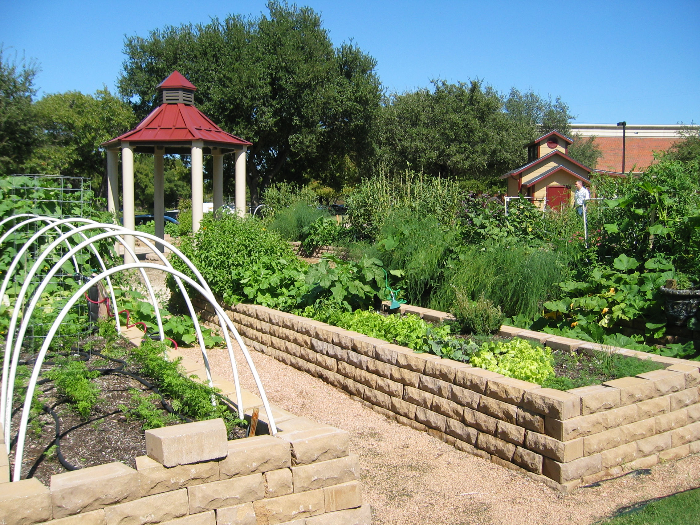 Community gardens addison public art addison arbor for The landscape gardener